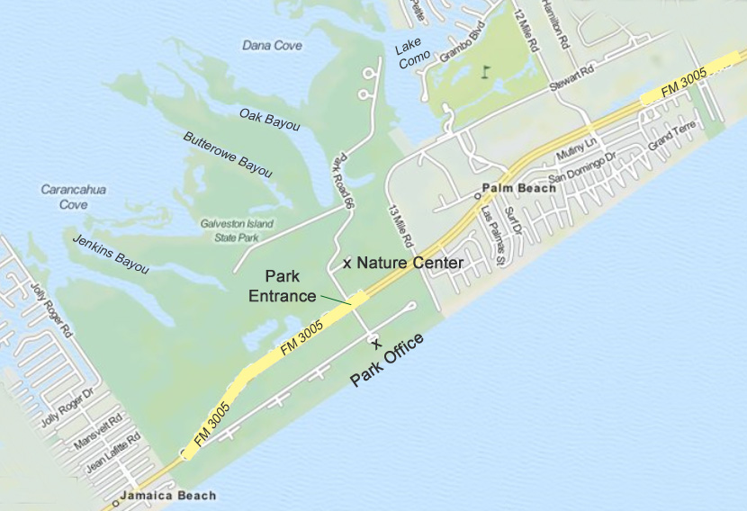 nature learning center  u2013 friends of galveston island state park
